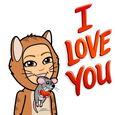 Yes, they have a bitmoji for my week. Thank you, L!